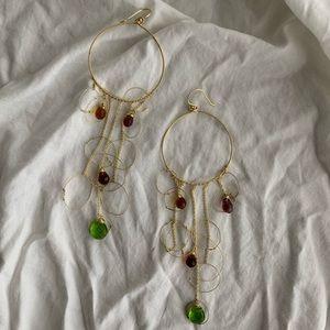 gorgeous handmade drop earrings